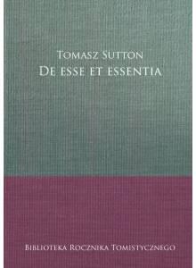 De esse et essentia (E-book)