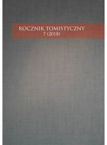 Rocznik Tomistyczny nr 7 (2018)